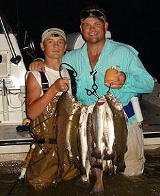 Lugna Madre fishing guides, South Padre Island fishing guides, Port Mansfield fishing guides: Fishing guides at Texas Gulf Coast Saltwater Fishing Guides and Charters